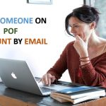 find pof account by email