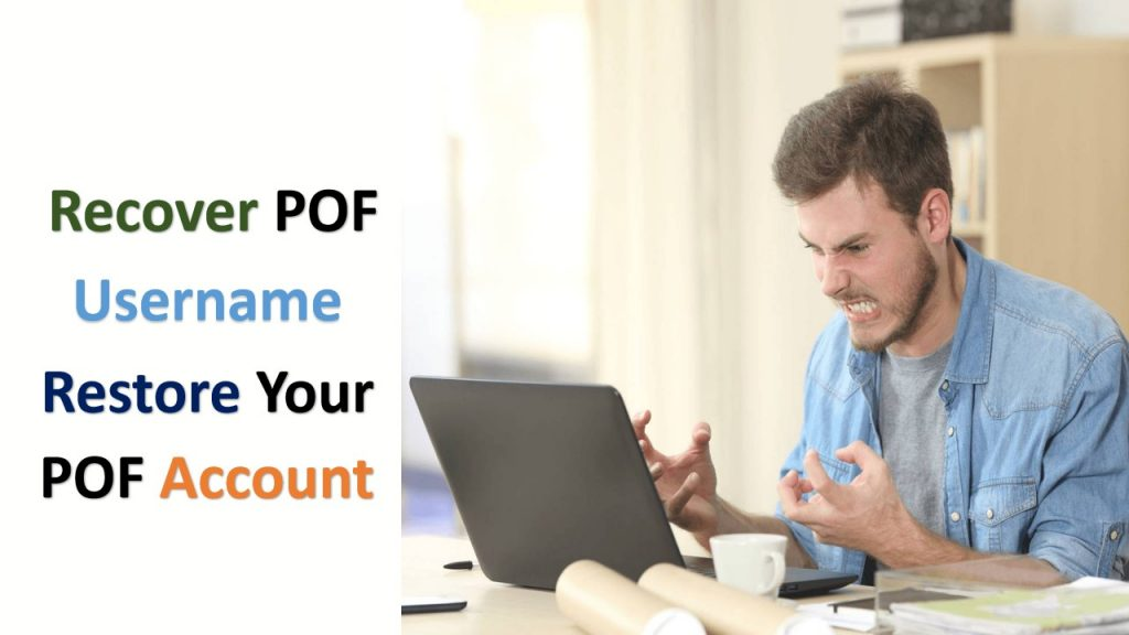 recover pof username